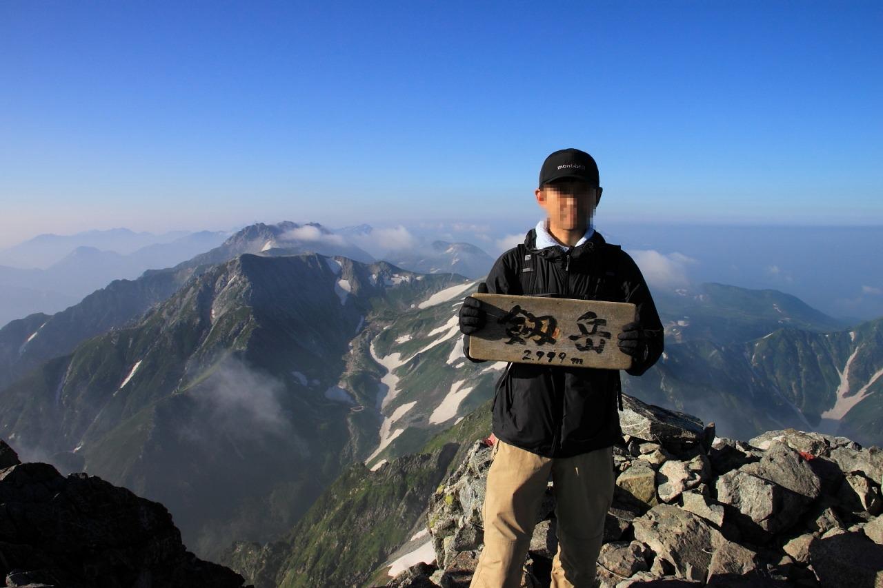 2013年8月14~15日 剱岳_095