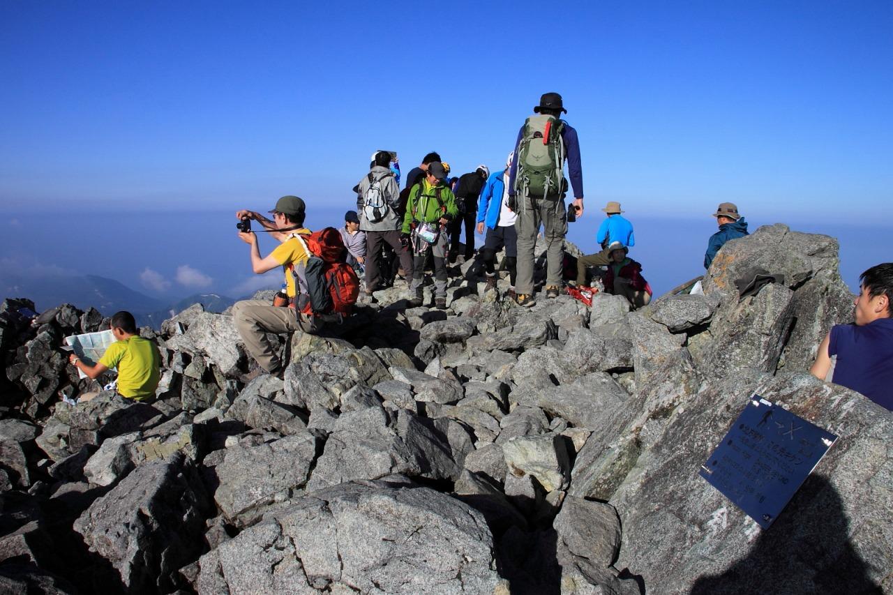 2013年8月14~15日 剱岳_096