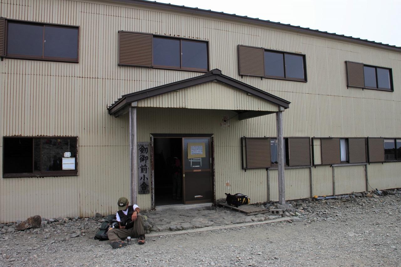 2013年8月14~15日 剱岳_129