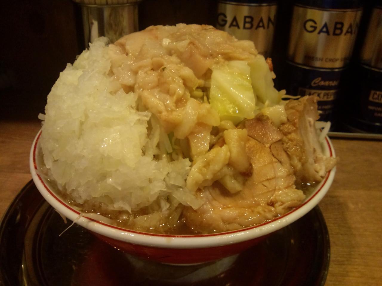 麺でる大岡山店(大ラーメン)