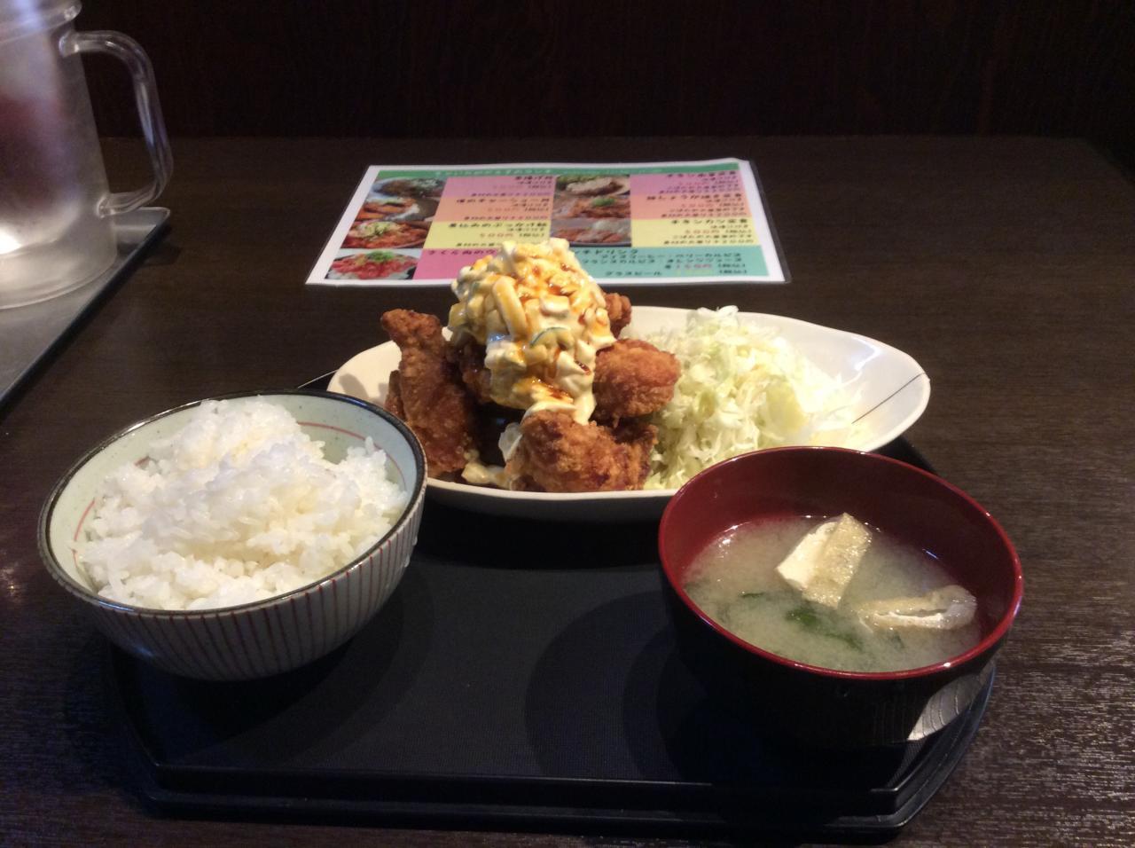 ちゃい九炉 八重洲店(チキン南蛮定食大盛り)