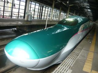 E5系_盛岡にて