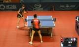 【卓球】 阿部恵VSサビトワ ロシアオープン2012