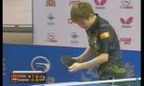 【卓球】 馮亜蘭VSノスコワ(準々)ロシアオープン2012