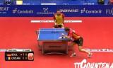 【卓球】 ティモボルVSクリサン ETTC 2012