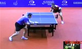 【卓球】 ドリンクホールの試合 ドイツオープン2012
