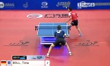 【卓球】 ボルVSガオニン(準決) ドイツオープン2012