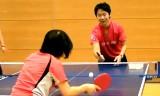 東京アート卓球教室★憧れの選手の教え方