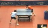 【卓球】 吉田雅己VSモアブロ ポーランドオープン2012