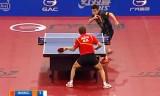 【卓球】 王皓VS周雨(決勝戦) ポーランドオープン2012