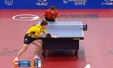 【卓球】 周雨VSチェンフォン(準決勝) ポーランドオープン2012