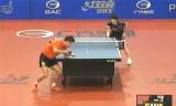 【卓球】 王皓VS松平健太(3回戦) ポーランドオープン2012