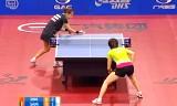【卓球】 丁寧VSサマラ(決勝) ポーランドオープン2012