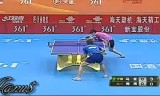 【卓球】 馬龍 VS 周雨 中国超級リーグ2012
