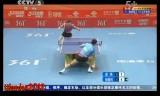 【卓球】 張継科 VS 周雨 中国超級リーグ2012