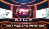 トップ10ショット☆女子ワールドカップ2014