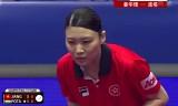 姜華珺VSポータ(準々決)女子ワールドカップ2014