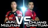 水谷隼VS荘智淵(準々)男子ワールドカップ2014
