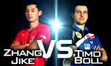 張継科VSボル(準決勝)男子ワールドカップ2014