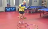 女子専用・卓球サーキットトレーニング2