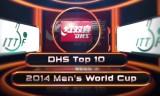 トップ10ショット 男子ワールドカップ2014