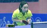 伊藤美誠VS金智淏(個人決勝) WCC2014