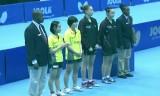 伊藤美誠/金智淏(ダブルス決勝)WCC2014