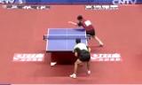 樊振東VS尚坤(団体) 全中国選手権2014
