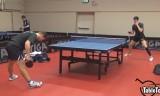オフチャロフの練習 スウェーデンオープン2014