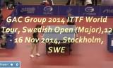 劉詩文VSメレク(2回戦)スウェーデンオープン2014