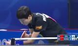 王曼昱VS朱朝輝(女決勝)世界ジュニア2014