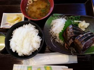 塩カツオ定食