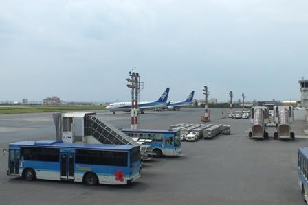 旧空港駐機場