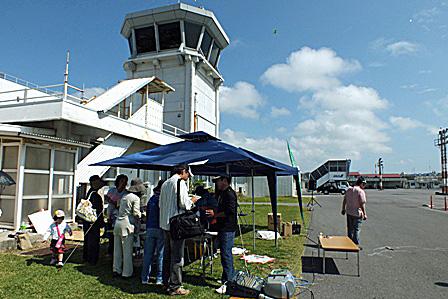 凧揚げ大会本部