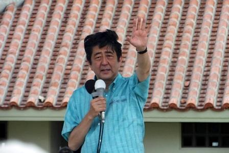 安倍党首演説