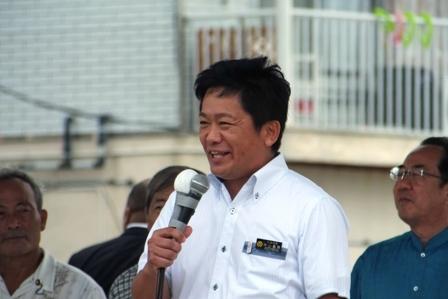 中山市長応援演説