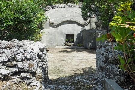 きれいな亀甲墓