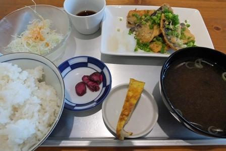 さんま竜田揚げ定食