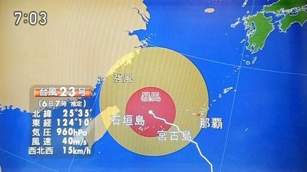 10月6日7時06分TV