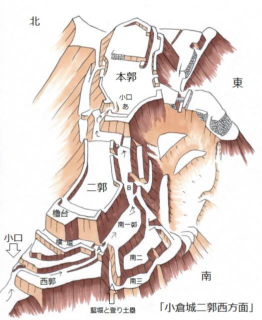小倉城二郭西