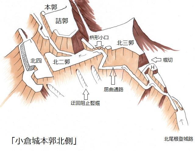 小倉城本郭北