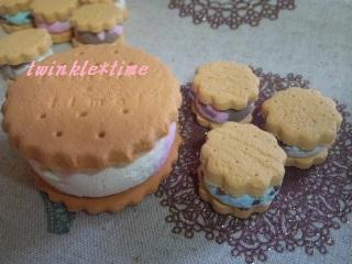 プチアイスサンドクッキー 1-3
