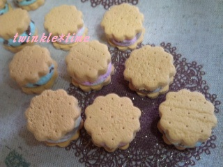 プチアイスサンドクッキー 1-1