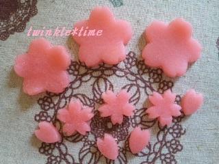 パーツ 桜の寒天 2