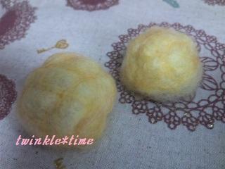 羊毛 メロンパン 1-1