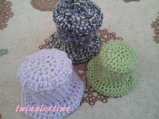 編み物 ハット