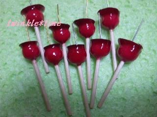 パーツ リンゴ飴 1-1