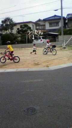 幼稚園帰り