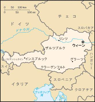 オーストリアmap