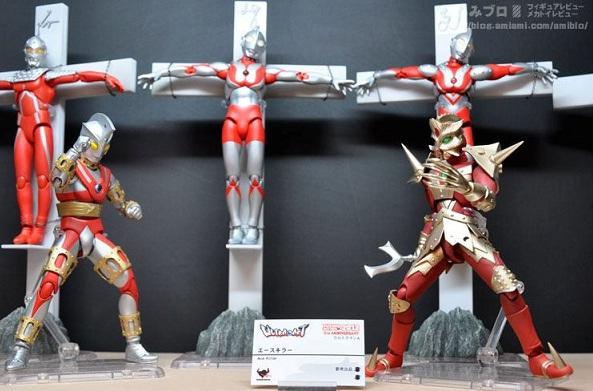 ウルトラアクト 展示エースキラー&エースロボット
